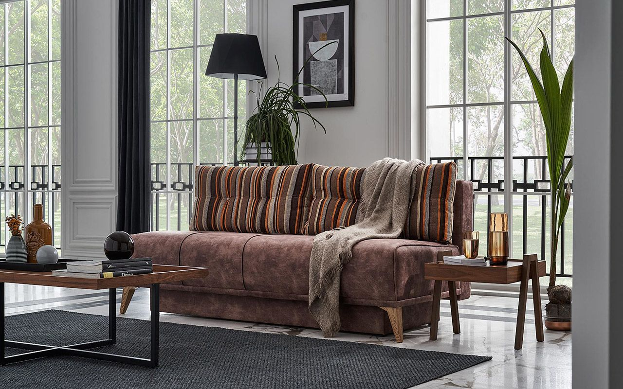 Καναπές-Διπλό κρεβάτι Nelson